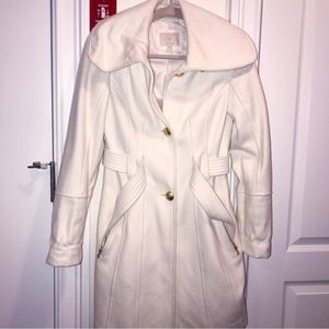 Guess Trench Coat | XS | Cream